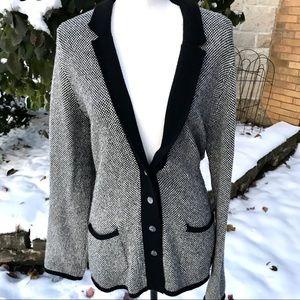 Banana Republic wool button up cardigan XL